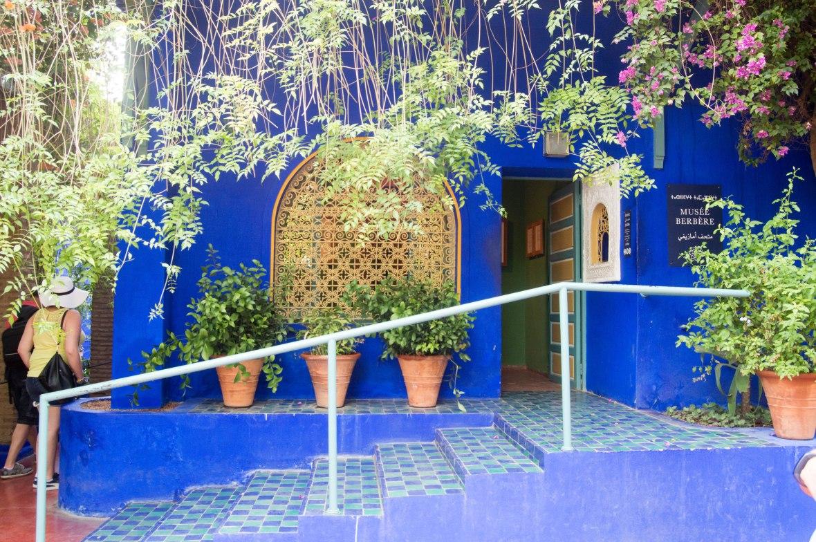Musee Barbere, Majorelle Garden, Marrakech, Morocco