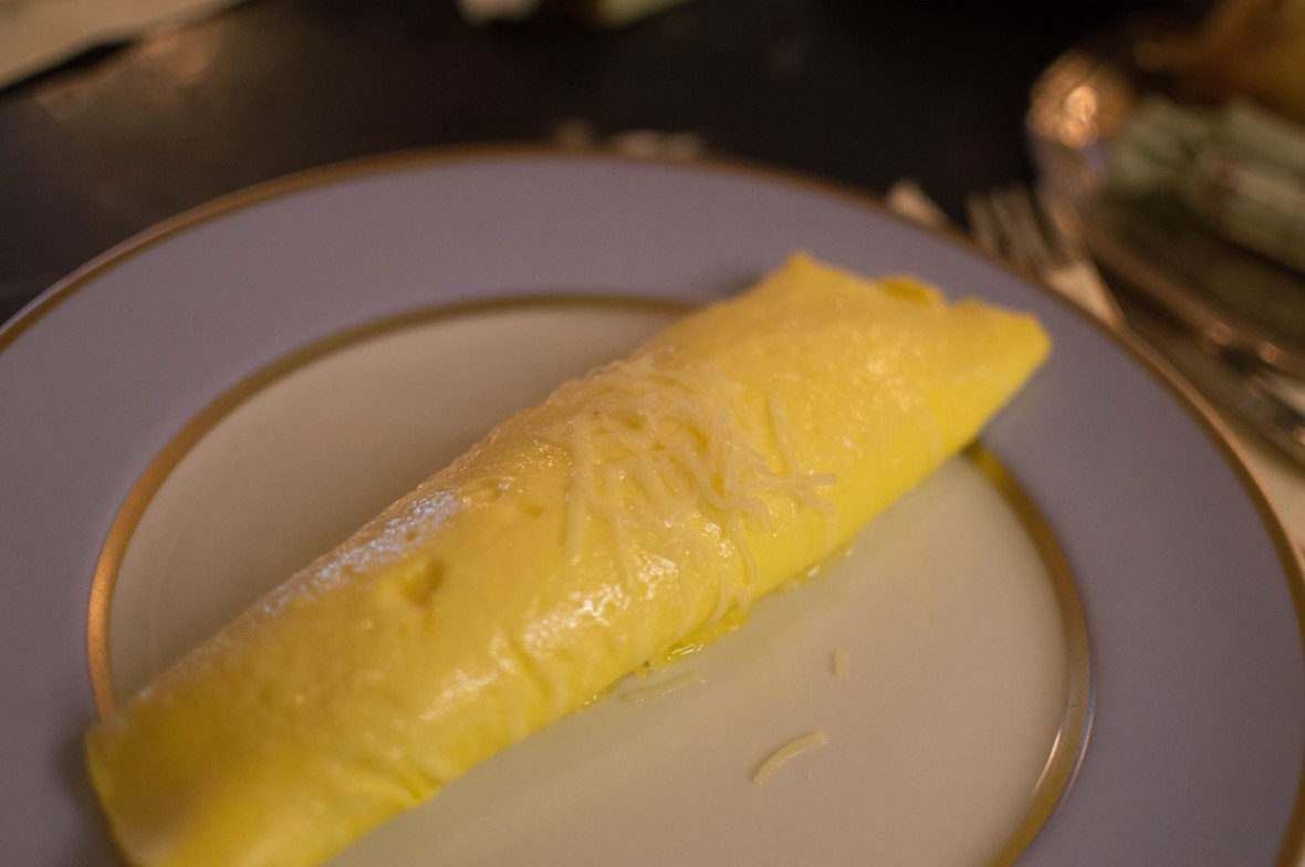 Omelette du Fromage, Laduree, Paris, France