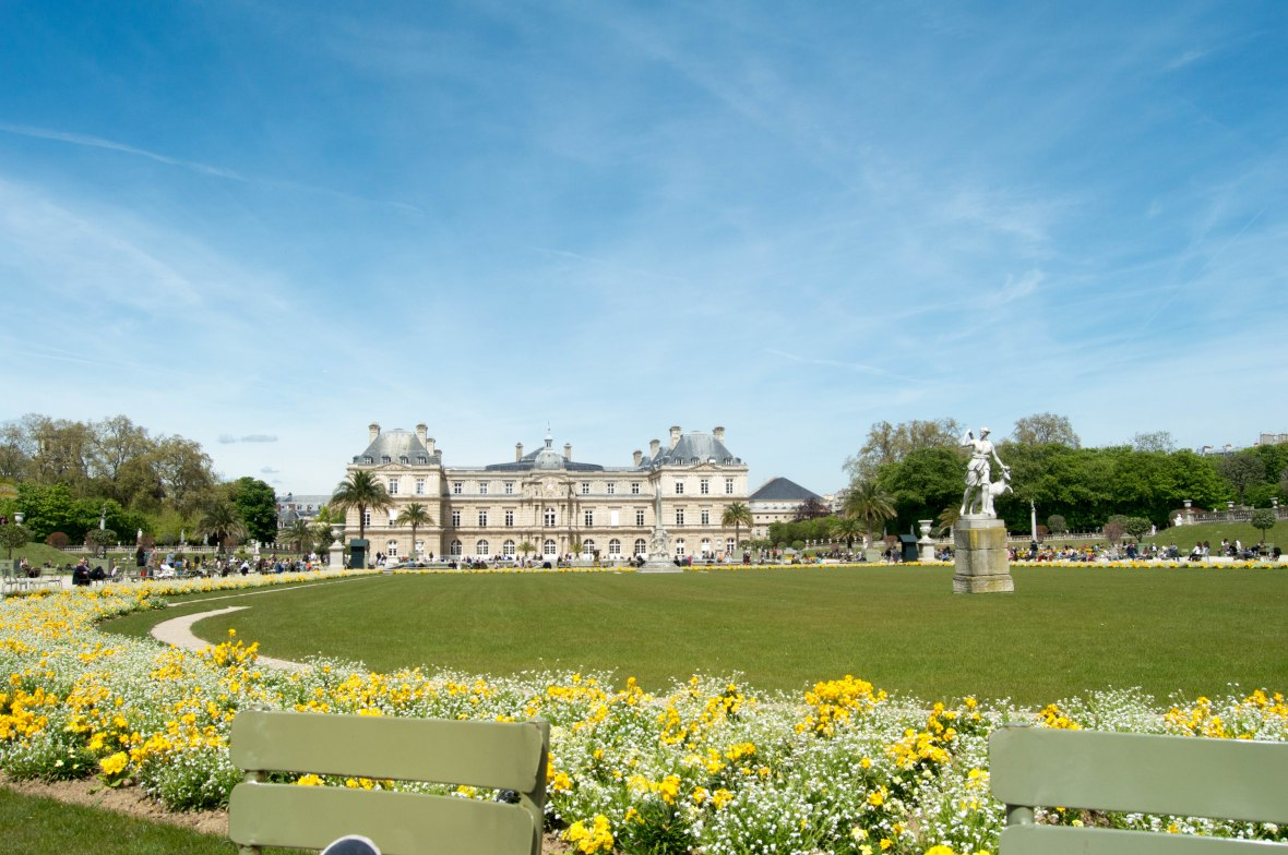Palace, Jardin du Luxembourg, Paris, France