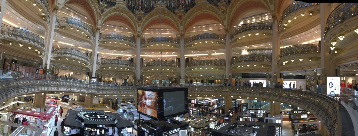Panorama Picture, Galeries Lafayette, Paris, France
