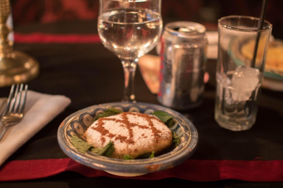 Pastilla Au Poulet, Le Marrakchi Restaurant, Marrakech, Morocco