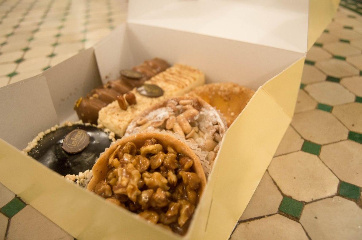 Pastry Selection, Pâtisserie Des Princes, Marrakech, Morocco
