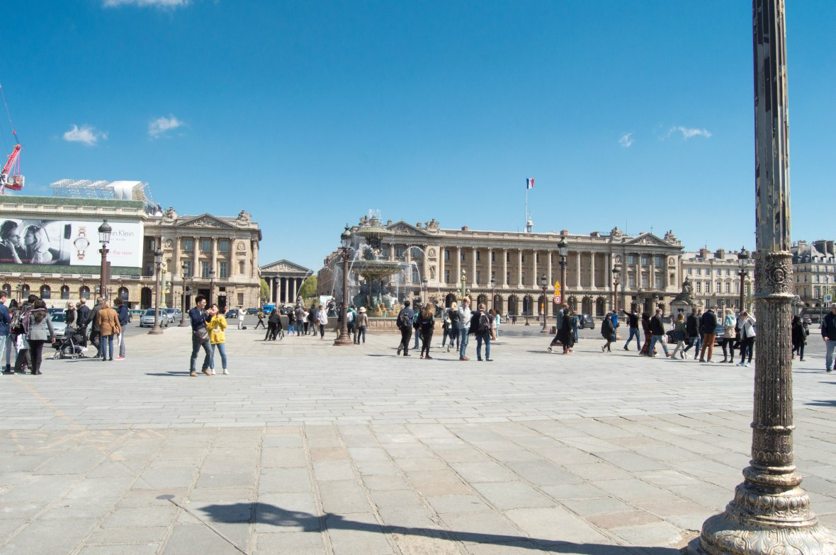 Place de la Concorde In Paris, France