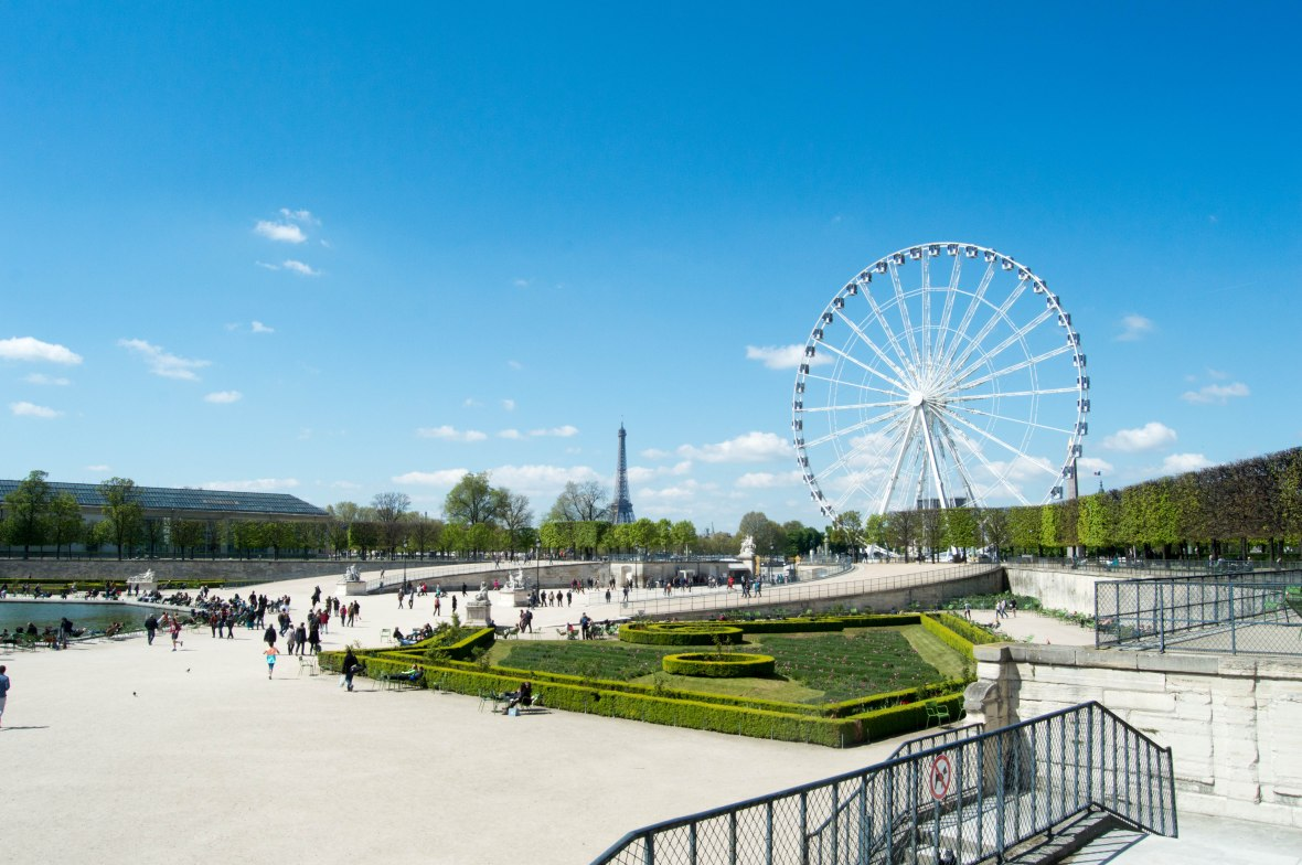 Roue De Paris From Jardin des Tuileries, Paris, France