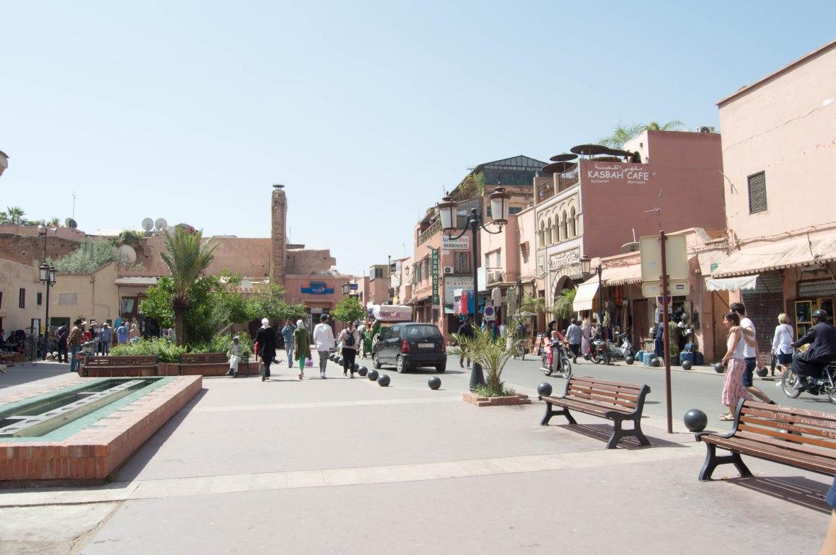 Rue de La Kasbah, Marrakech, Morocco