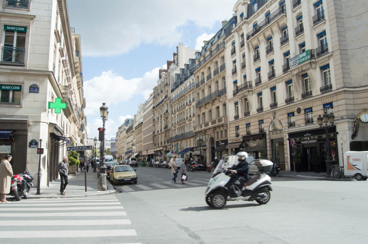 Rue des Capucines, Paris, France