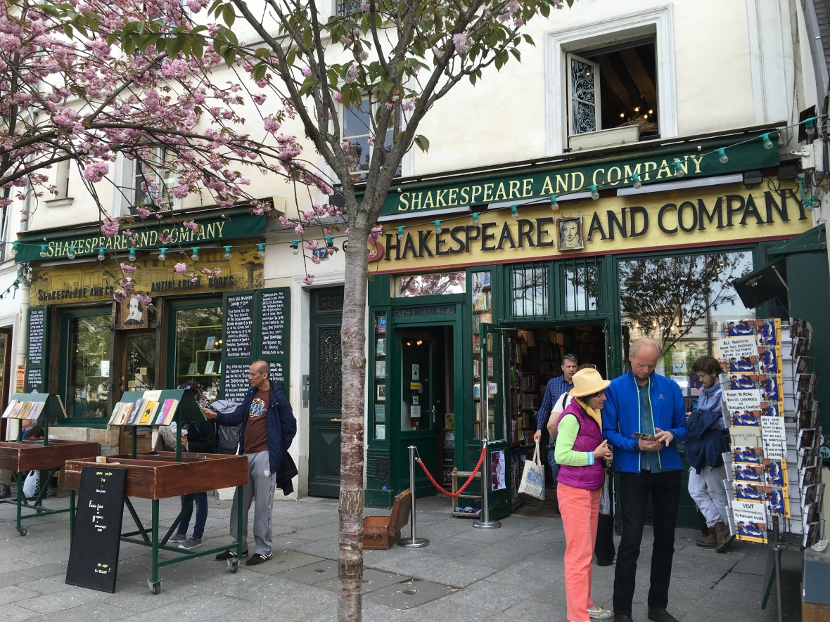 Shakespeare And Company, Bookshop, Paris, France