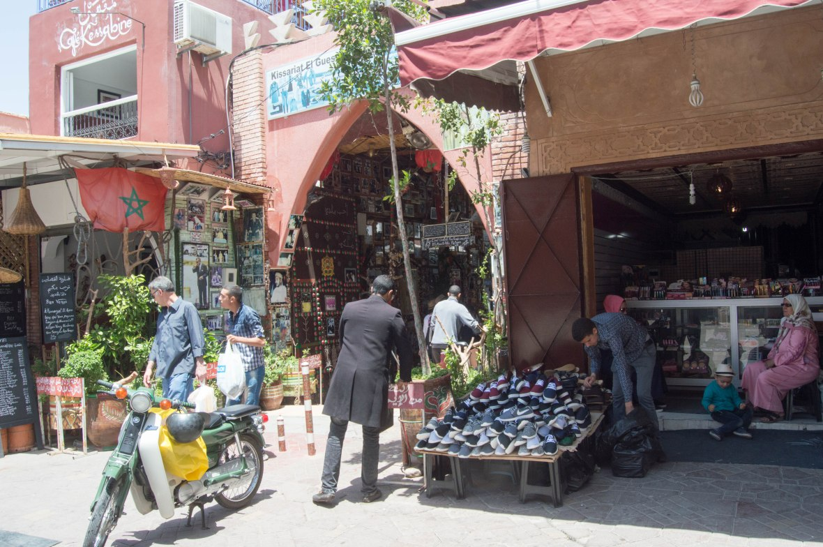 Shoes, Souks, Marrakech, Morocco