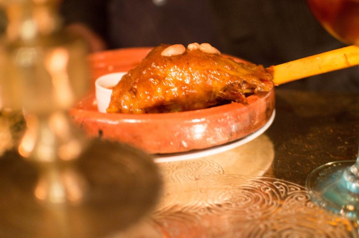 Slow Cooked Lamb, Le Salama, Marrakech, Morocco