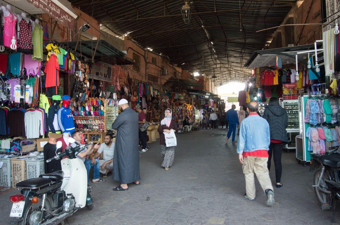 Souk Kassabine, Marrakech, Morocco