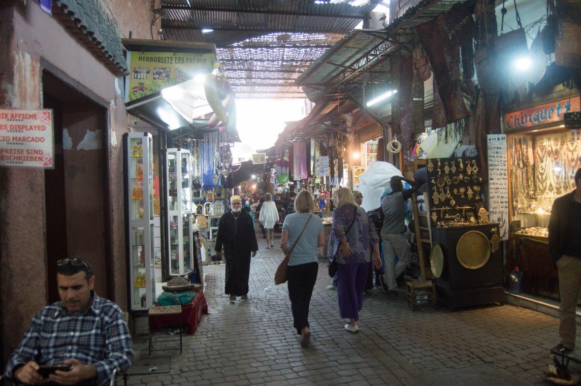 Souks, Marrakech, Morocco
