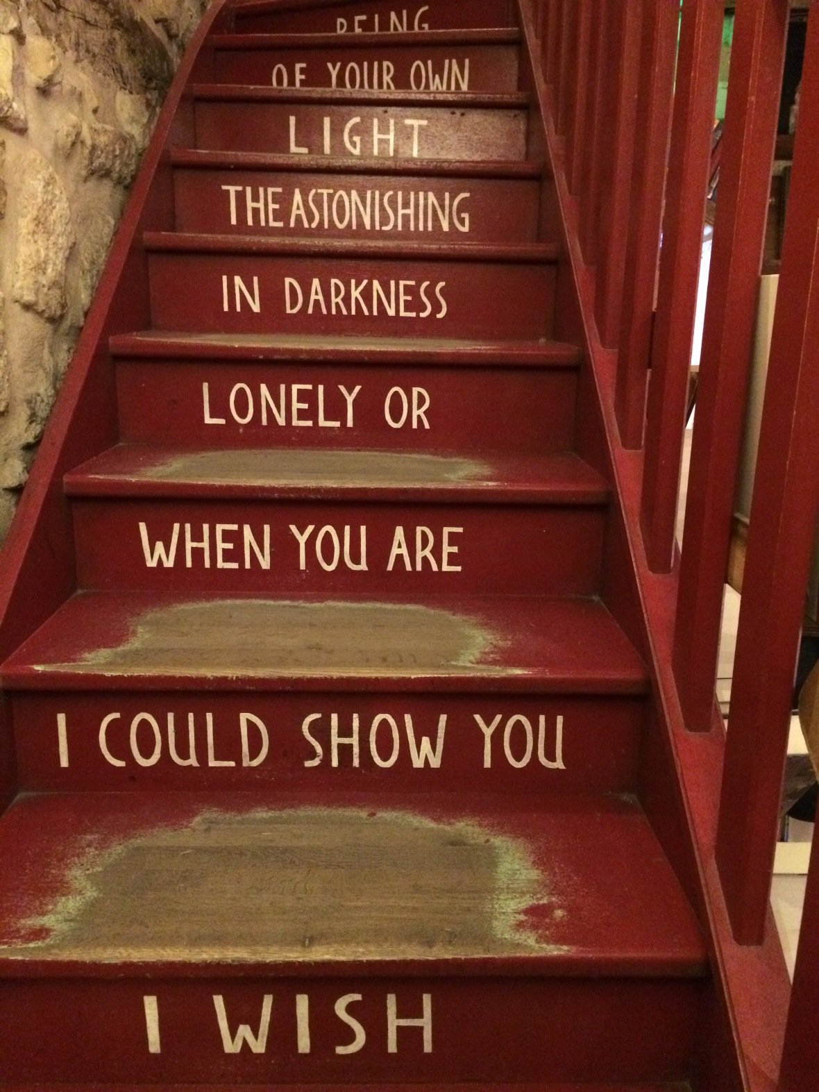 Staircase In Shakespeare And Company, Paris, France