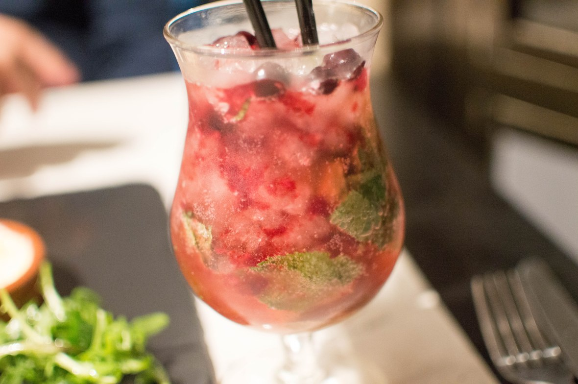 Strawberry Mojito, Le Bobo, Paris, France