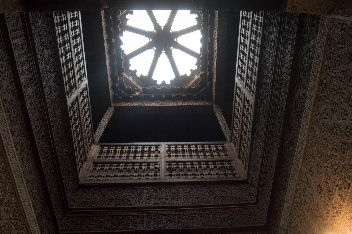 Sunlight, Ben Youssef Madrasa, Marrakech, Morocco