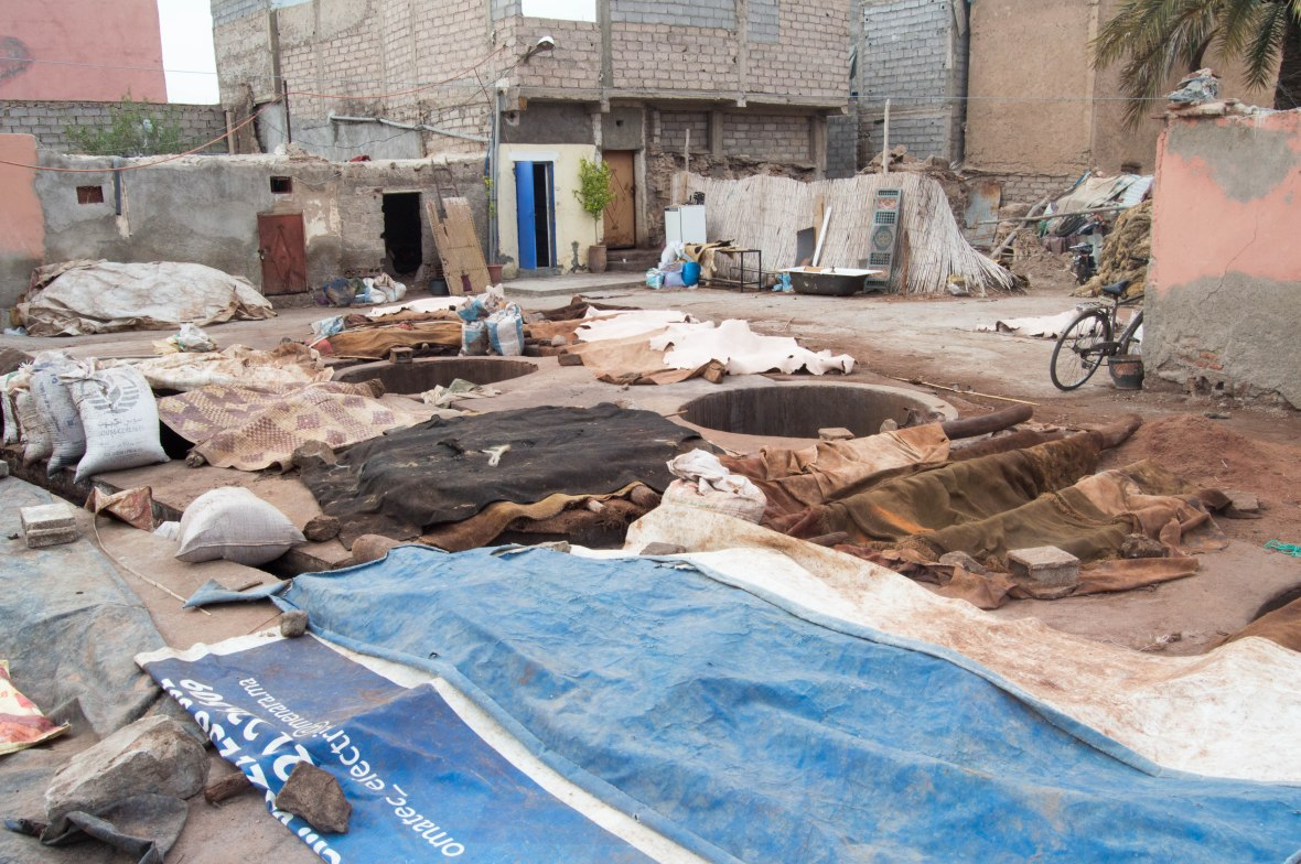 Tanneries, Marrakech, Morocco