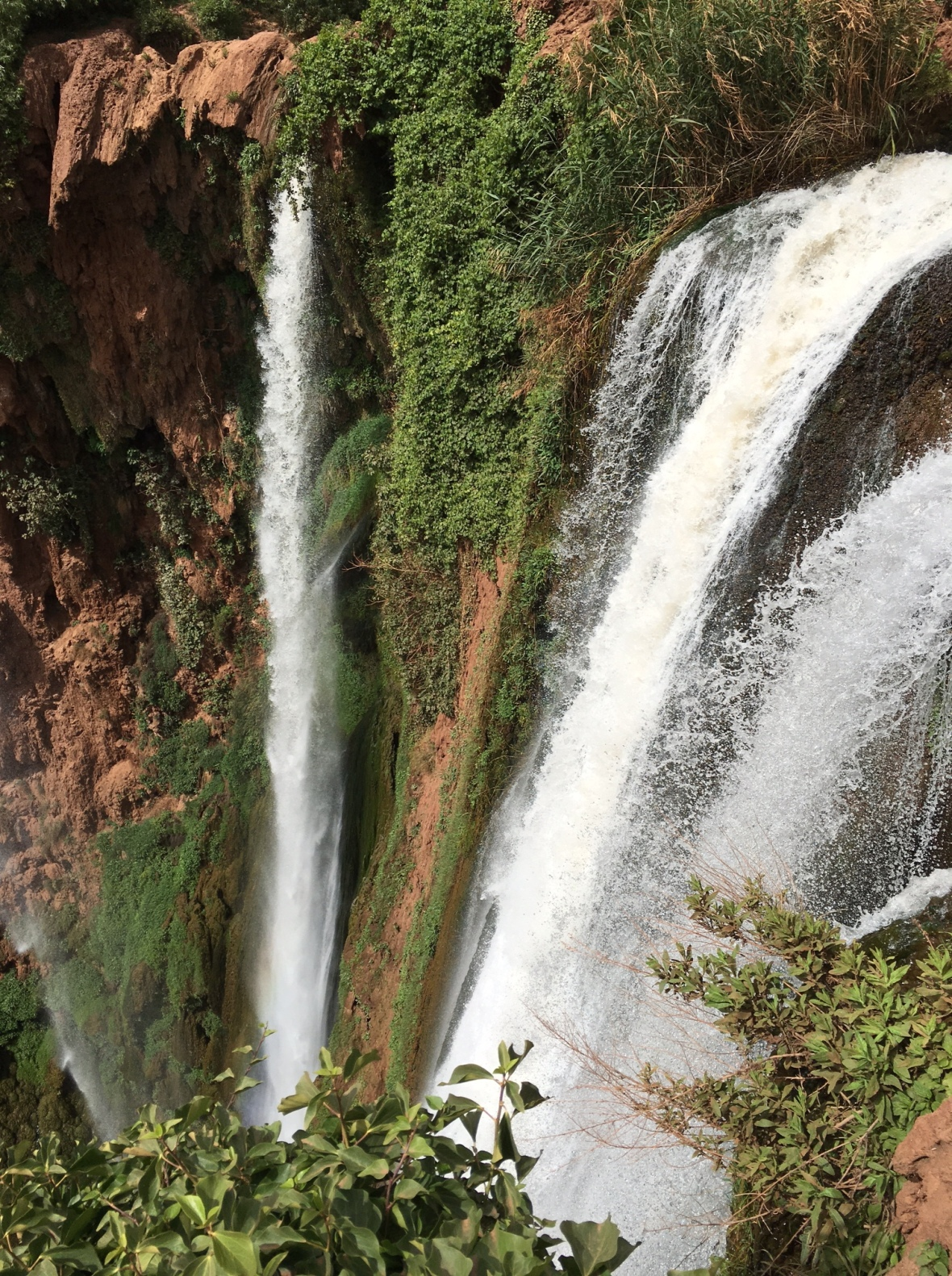 Top Of The Waterfall, Cascades D'Ouzoud, Morocco