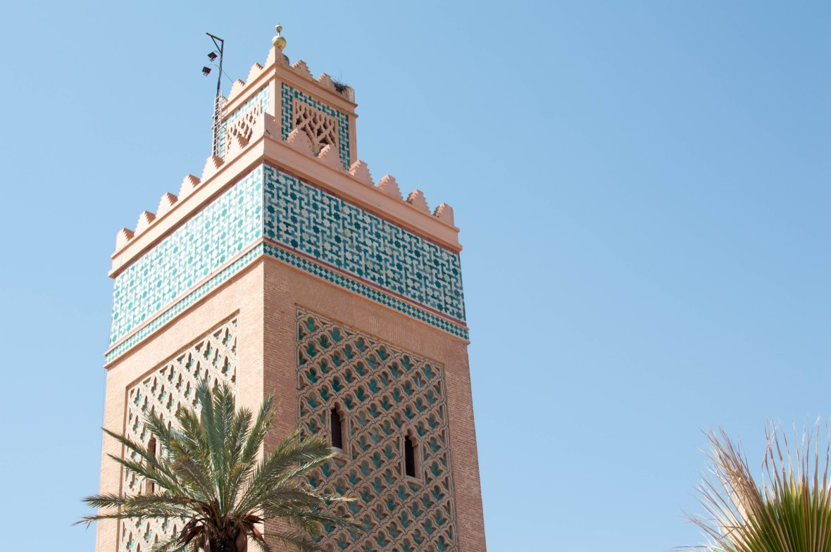 Tower, Koutoubia Mosque, Marrakech, Morocco