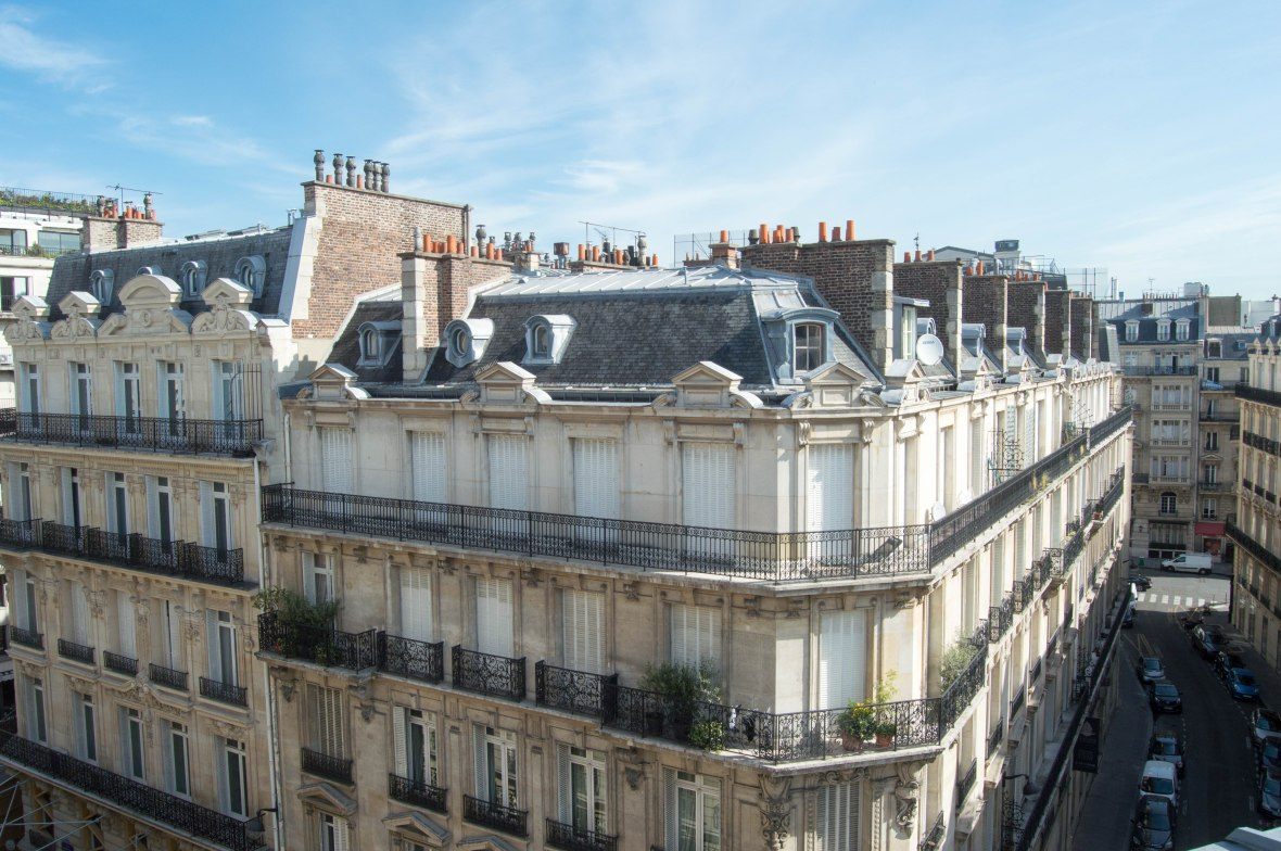 View From AirBnB Flat, Paris, France