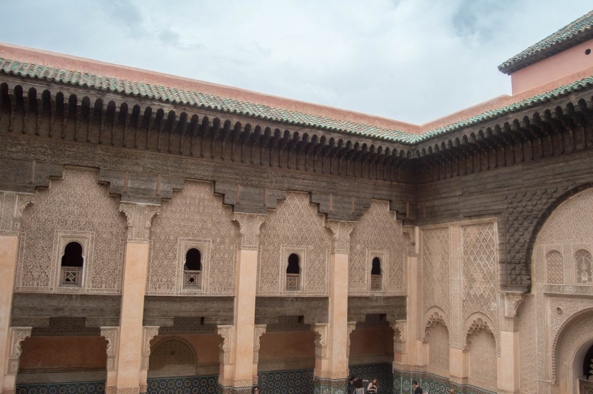 View From Balcony, Ben Youssef Madrasa, Marrakech, Morocco
