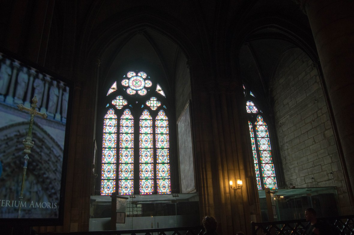 Windows, Notre Dame, Paris, France