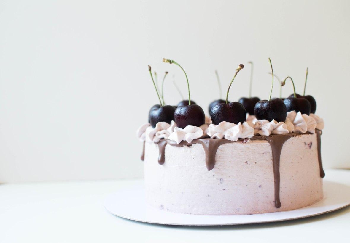Chocolate & Cherry Cake - Kay's Kitchen