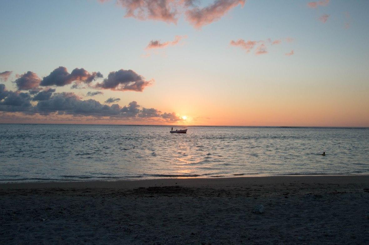 sunset-grande-riviere-noire-beach-mauritius