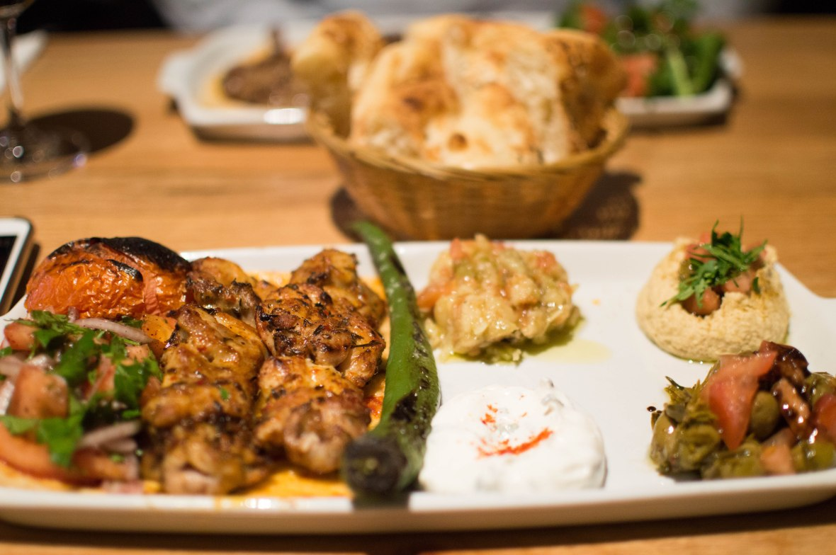 chicken-shish-and-meze-antiochia-concept-istanbul-turkey