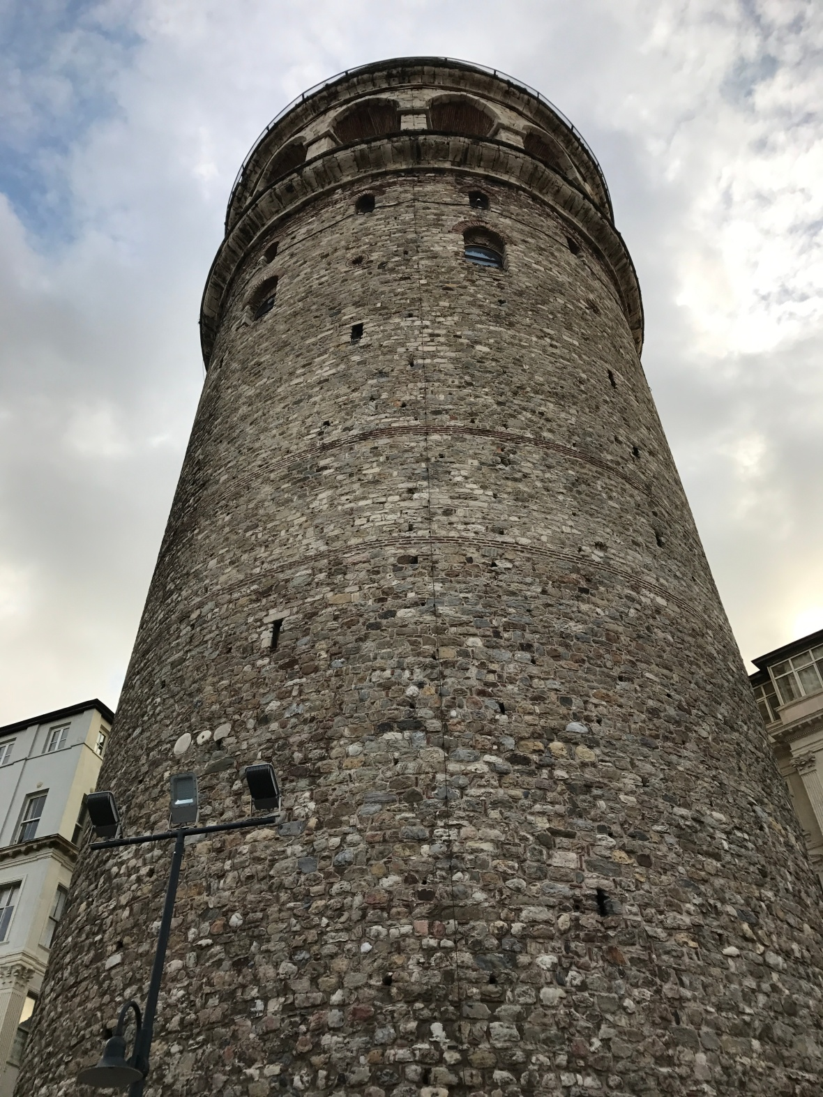looking-up-at-the-galata-tower-istanbul-turkey
