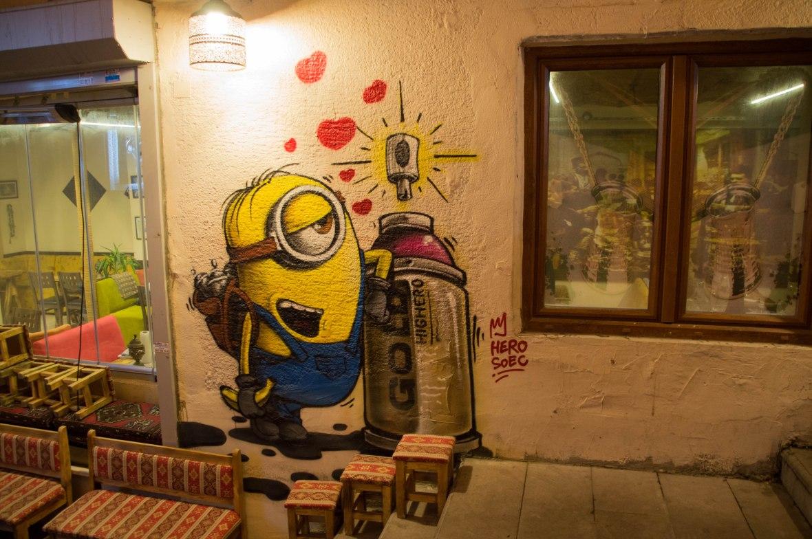 minion-graffiti-istanbul-turkey
