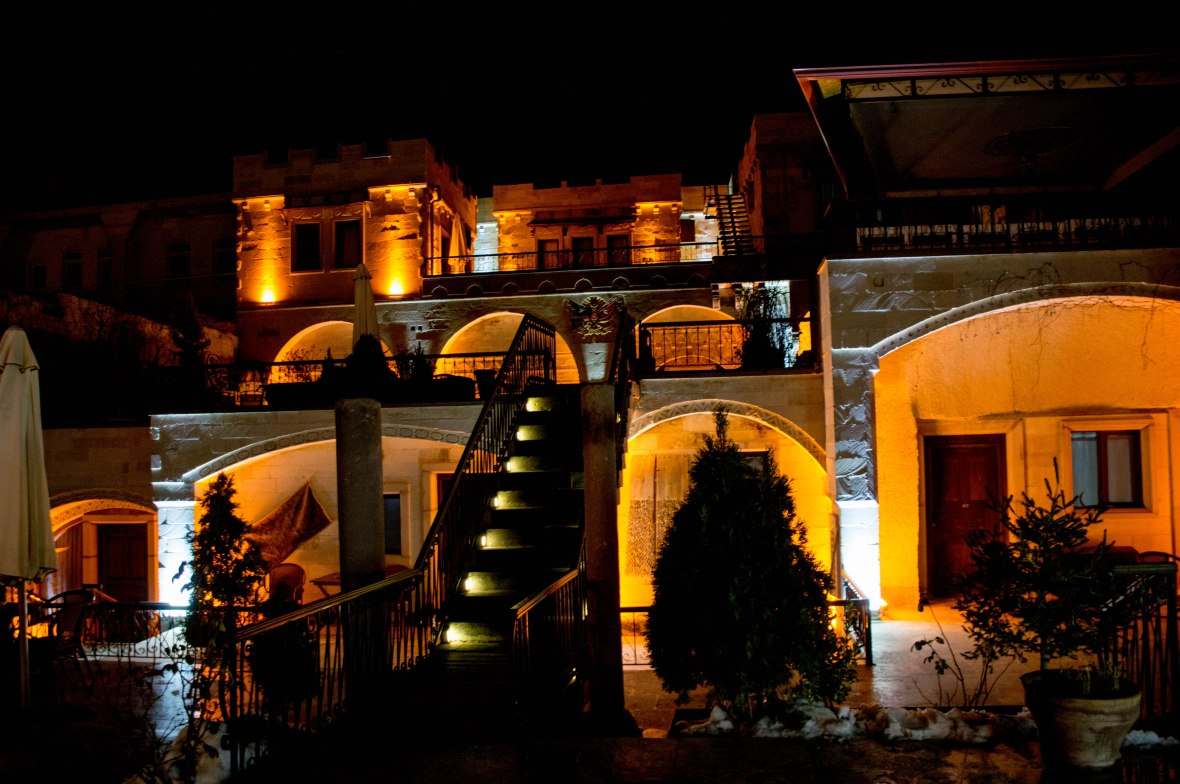 ottoman-cave-suites-night-capadoccia-turkey