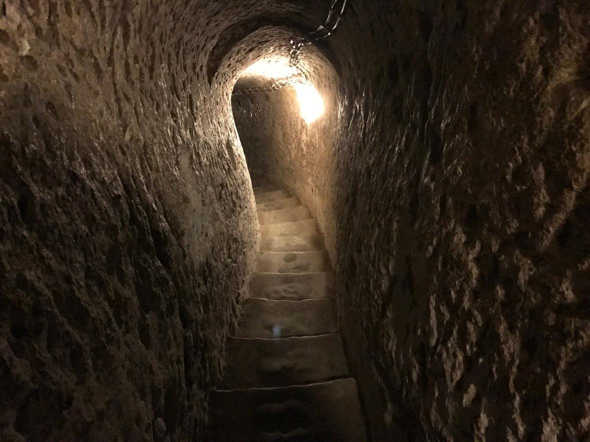 staircase-derinkuyu-capadoccia-turkey