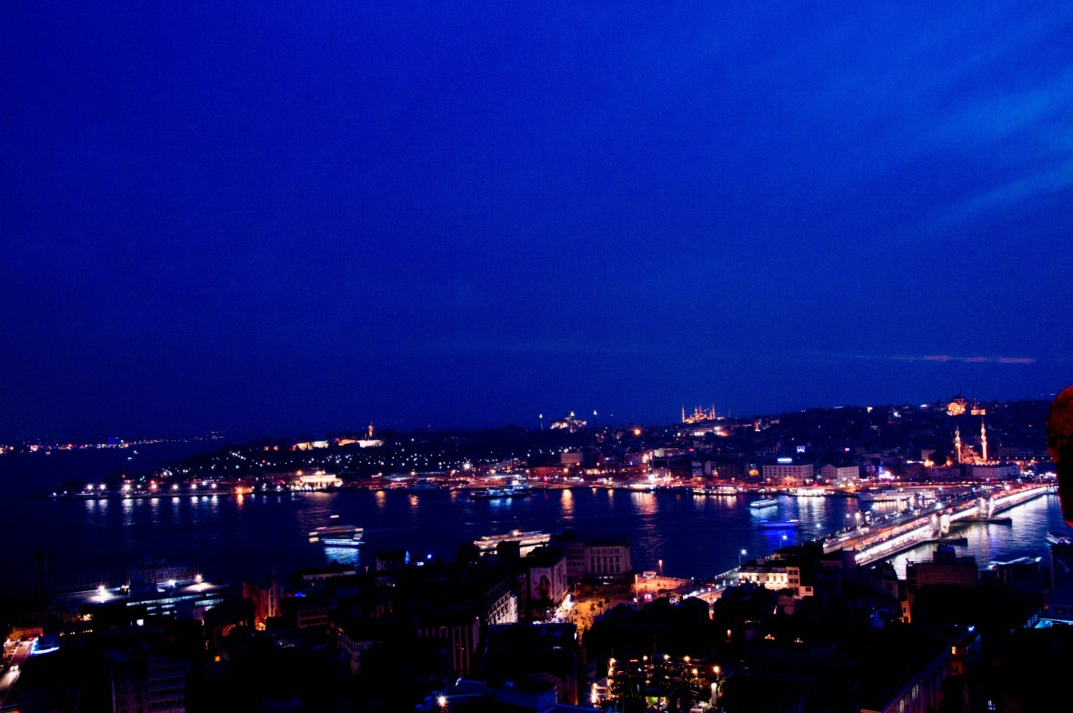 view-from-galata-tower-at-night-istanbul-turkey