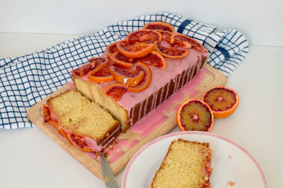 Blood Orange Cake With Candied Oranges - Kay's Kitchen