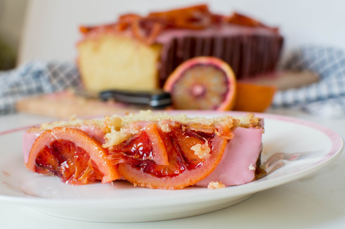 Blood Orange Drizzle Cake - Kay's Kitchen