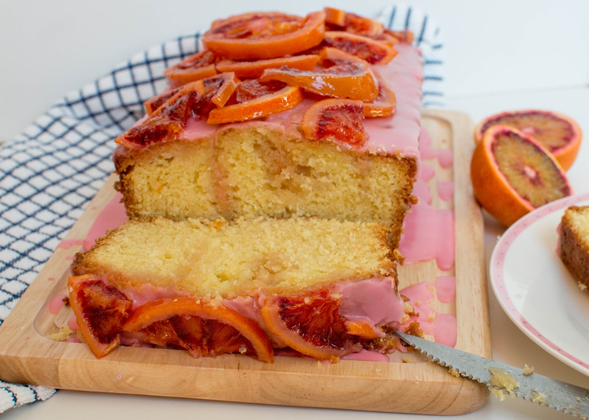 Blood Orange Drizzle Loaf - Kay's Kitchen