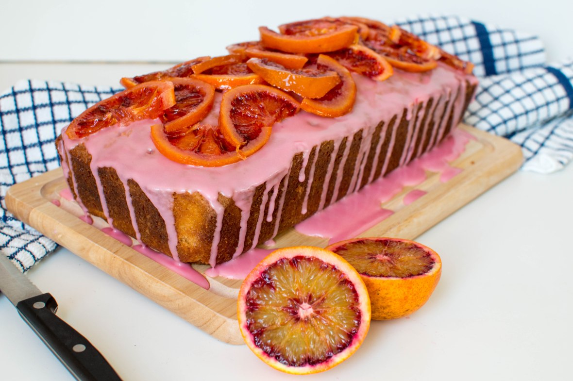Blood Orange Loaf Cake - Kay's Kitchen