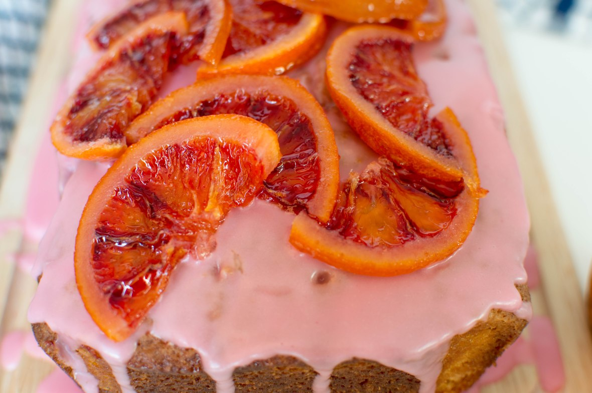 Candied Blood Orange Cake - Kay's Kitchen