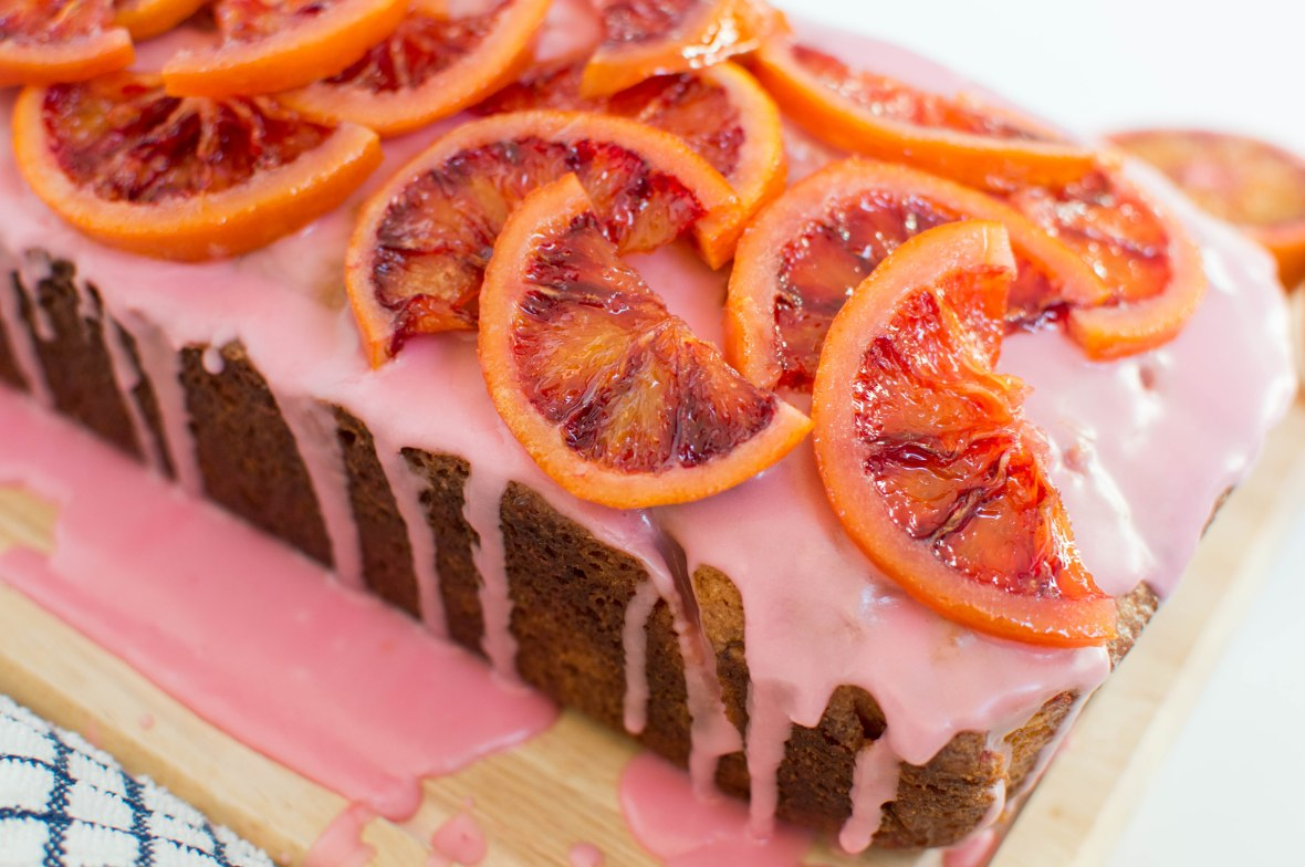 Candied Blood Orange Loaf - Kay's Kitchen