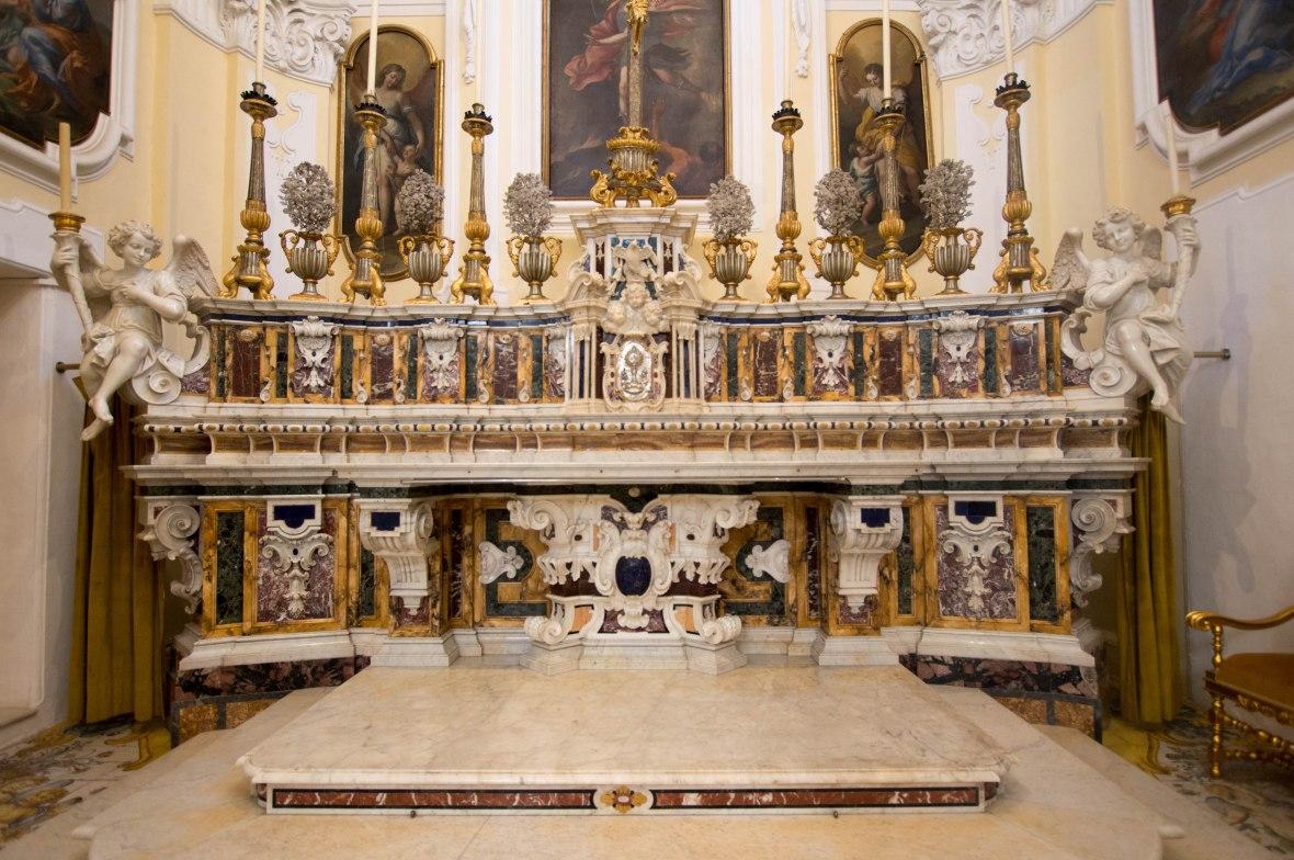 Altar, Chiesa di San Michele Arcangelo, Capri, Italy