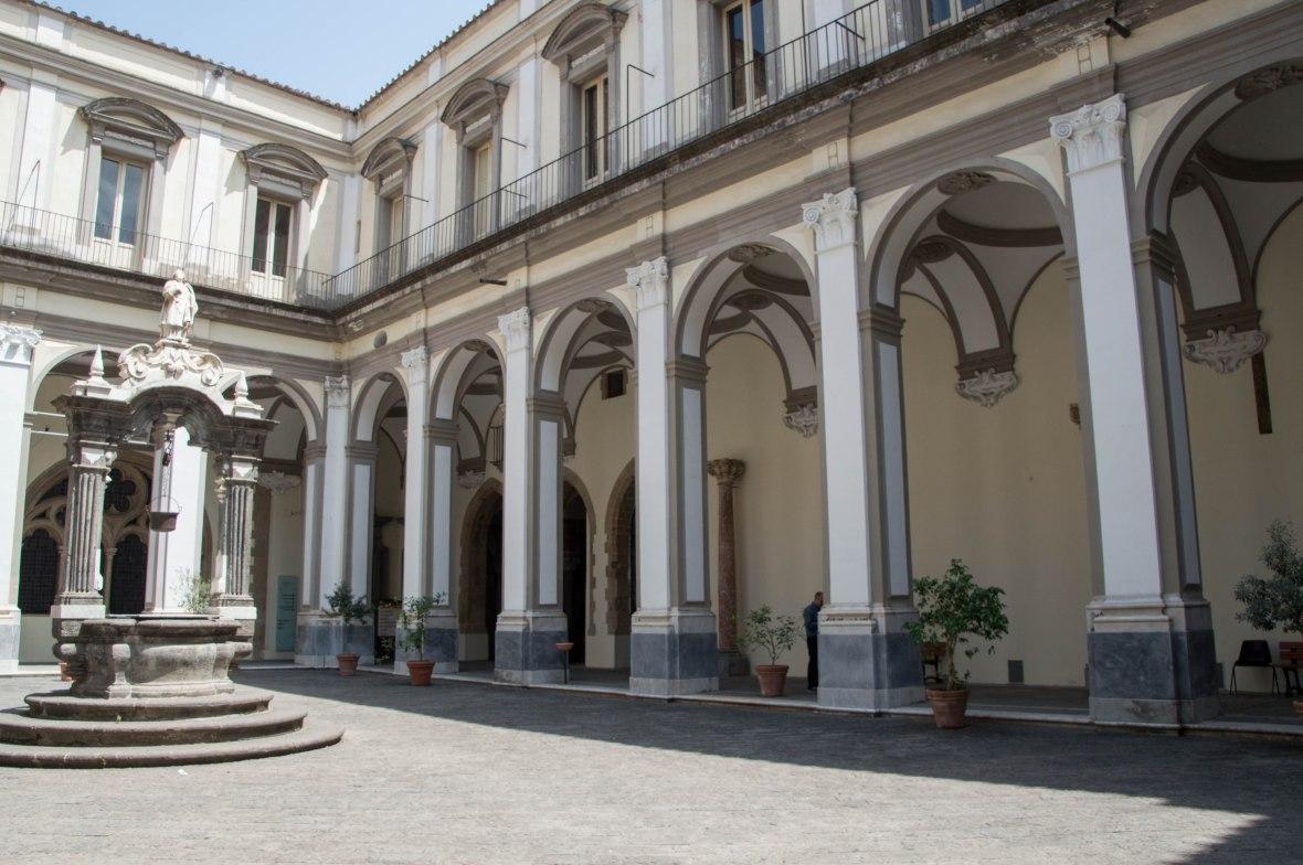 Arches, San Lorenzo Maggiore, Naples, Italy
