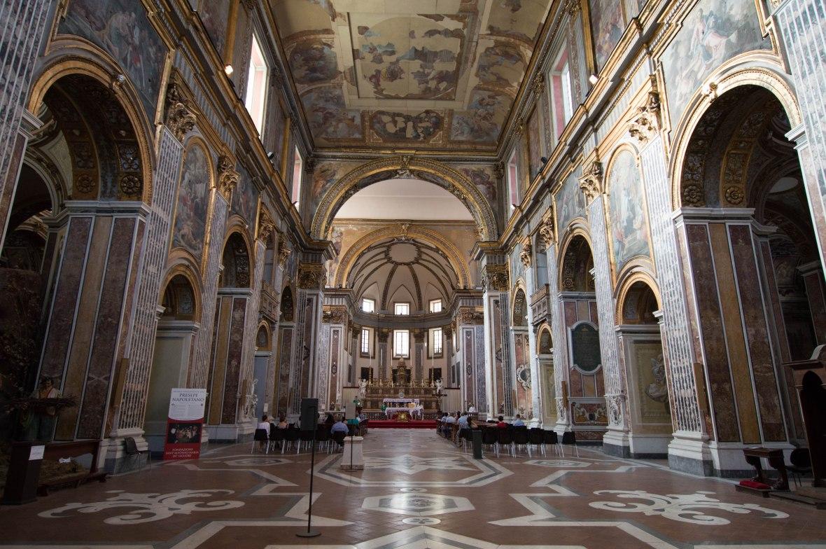 Basilica Di San Maggiore, Naples, Italy