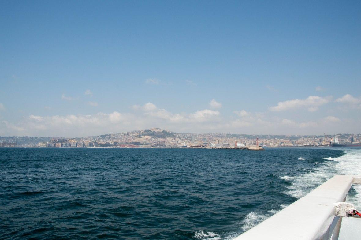 Boat From Naples To Capri, Italy