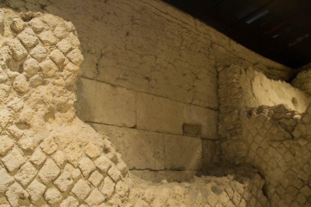 Bricks, San Lorenzo Maggiore, Naples, Italy