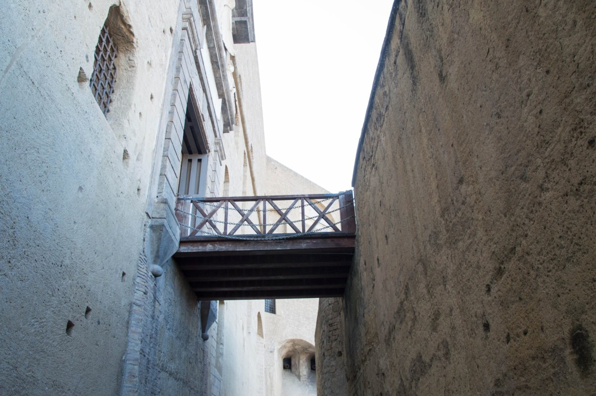 Bridge, Castel Sant'Elmo, Naples, Italy