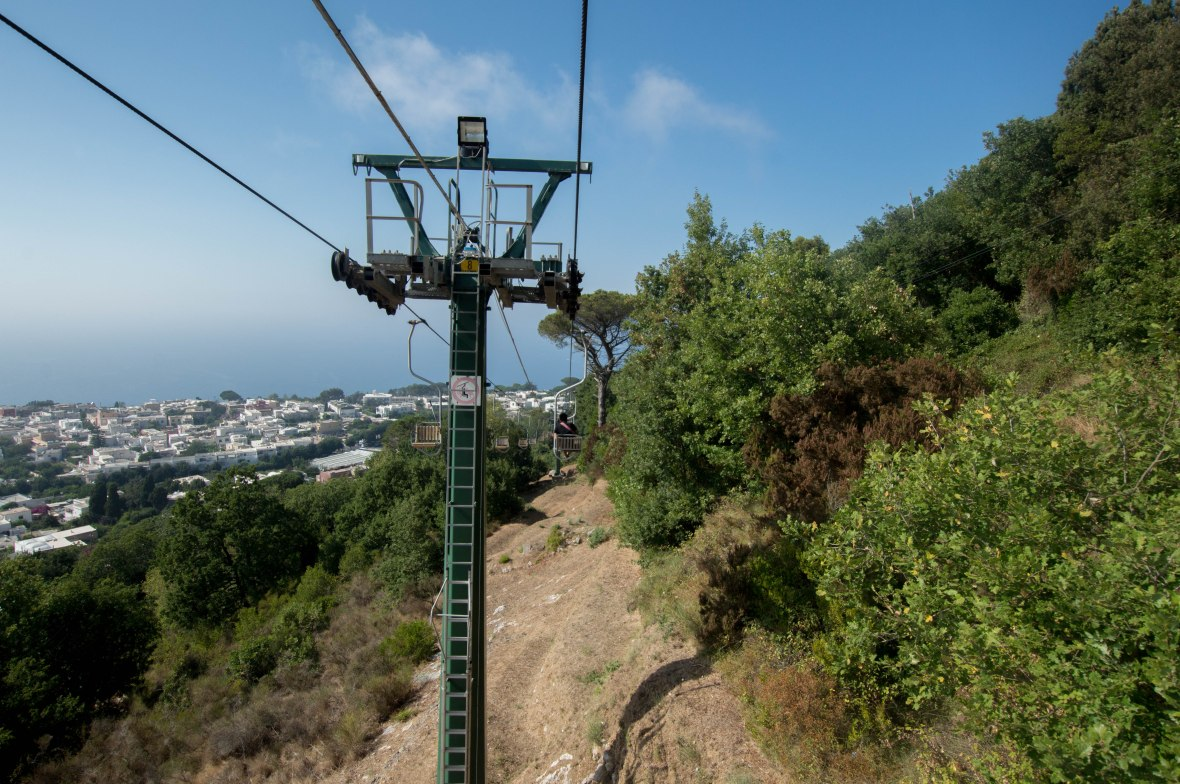 Cable Cars, Capri, Italy