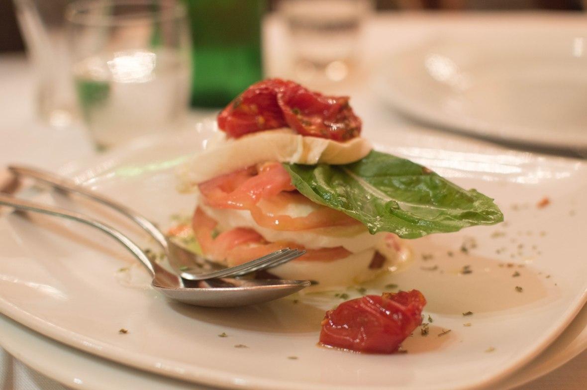 Caprese Salad, Umberto, Naples, Italy