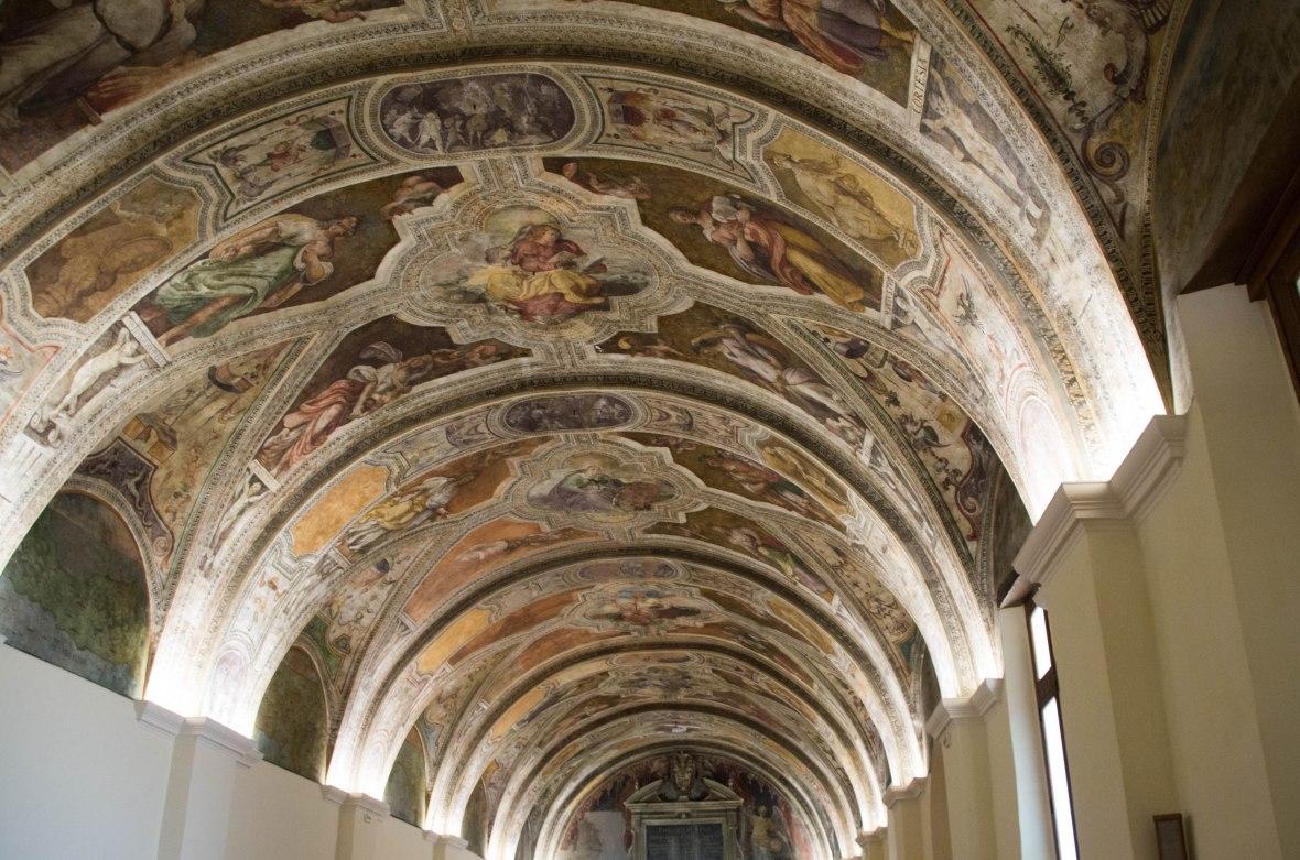 Ceiling At Sisto V Hall, San Lorenzo Maggiore,