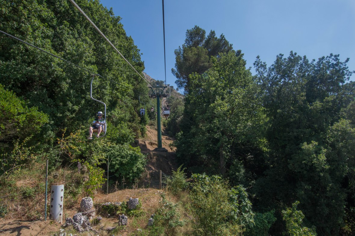 Chairlift To Mt Solaro, Capri, Italy