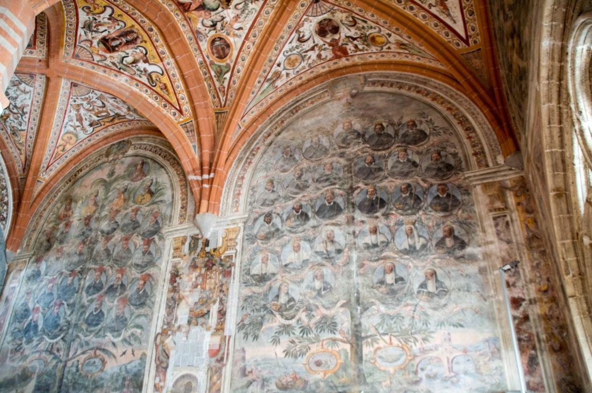 Family Tree, Chapter Hall, San Lorenzo Maggiore, Naples, Italy