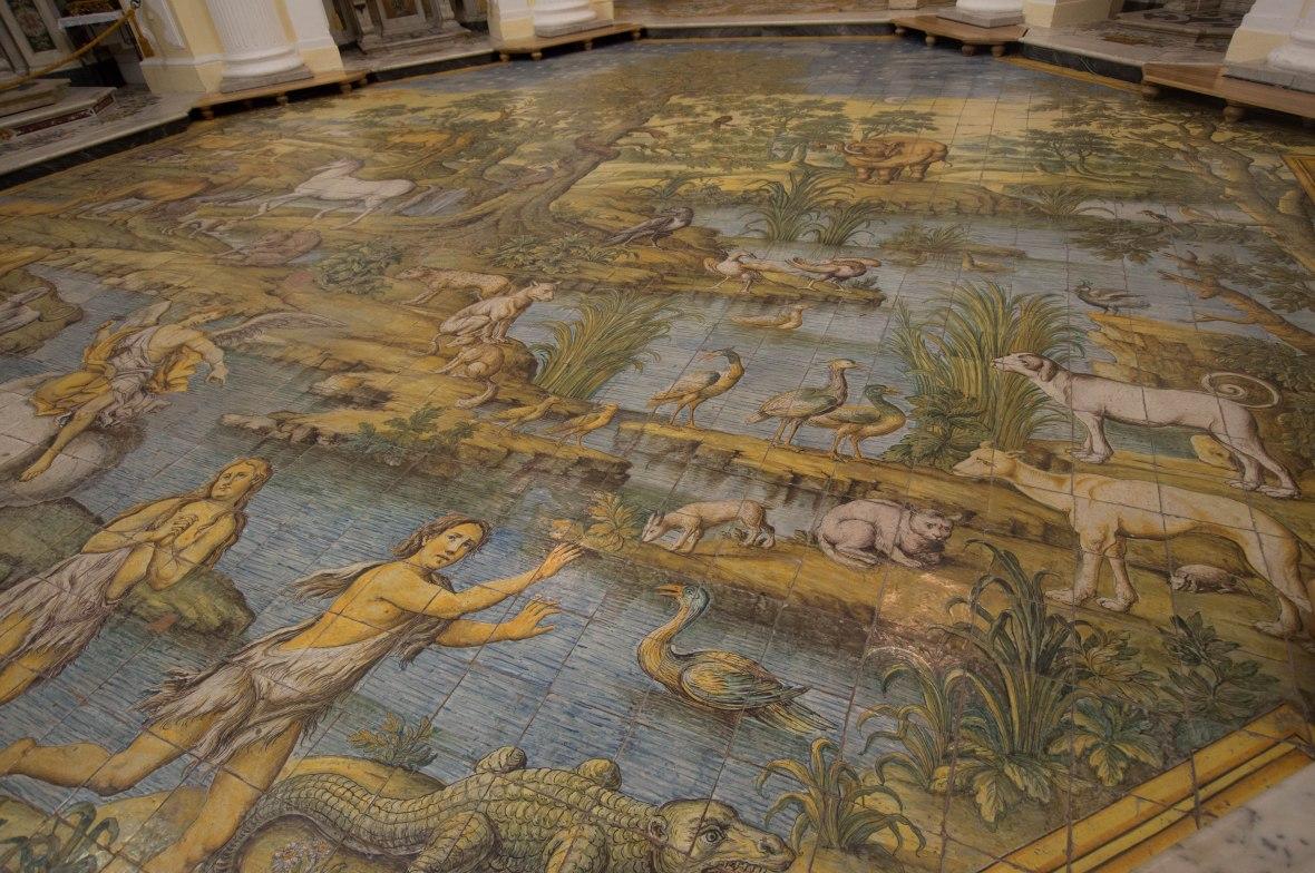 Floor Tiles, Chiesa di San Michele Arcangelo, Capri, Italy